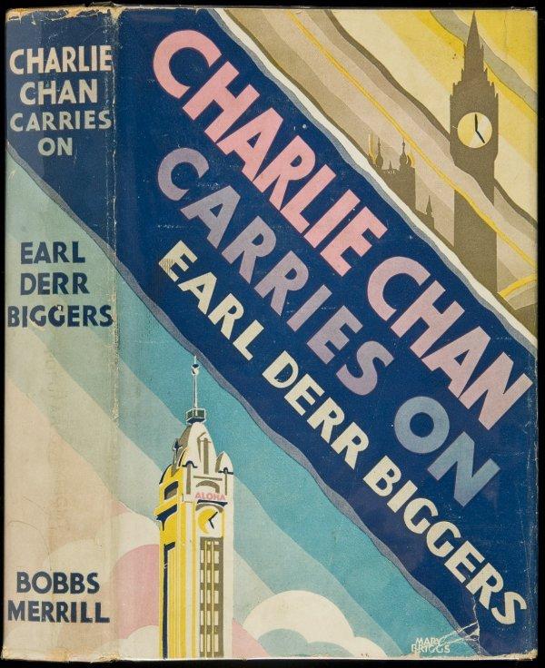 5: Earl Derr Biggers Charlie Chan Carries On