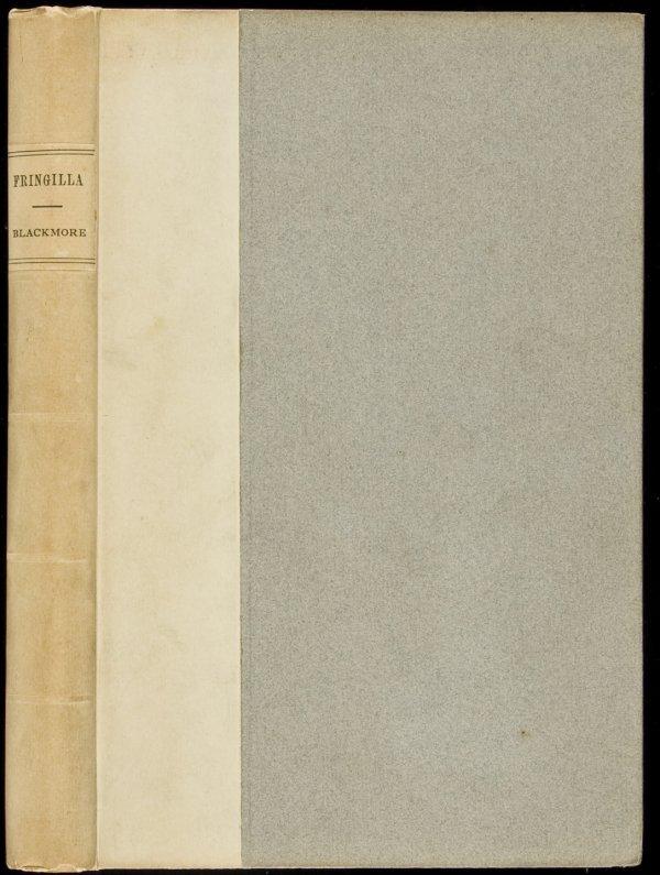 6: R.D. Blackmore Fringilla 1 of 25 copies