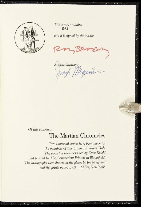 10: Ray Bradbury The Martian Chronicles