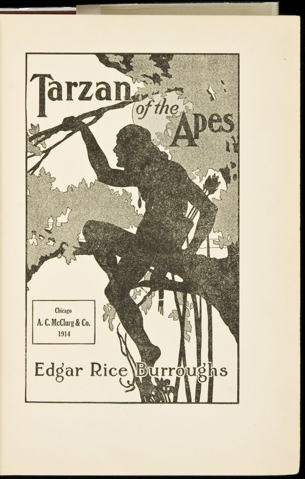 14: Tarzan of the Apes First Edition
