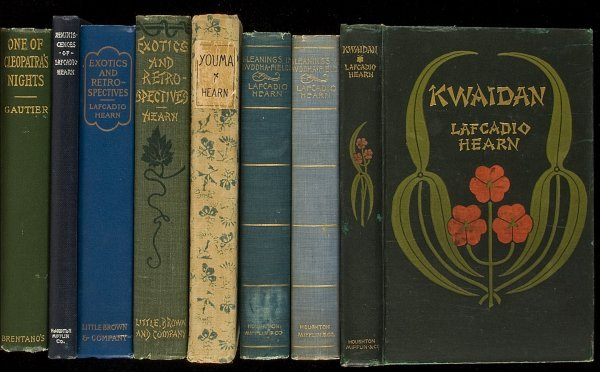 101: Large collection of works by Lafcadio Hearn