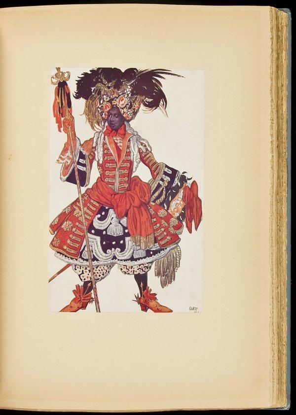 198: Leon Bakst designs for Sleeping Princess, 1/1000
