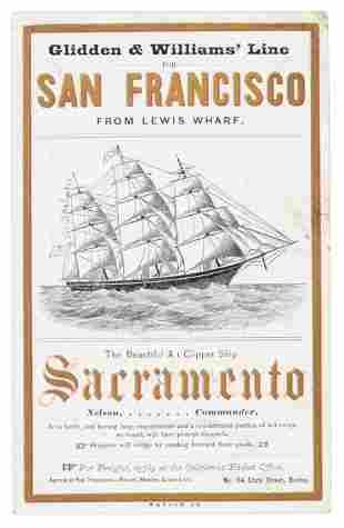 Clipper Sacramento bound for San Francisco