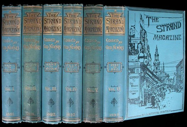 15: The Strand Magazine 117 vols. AC Doyle early work
