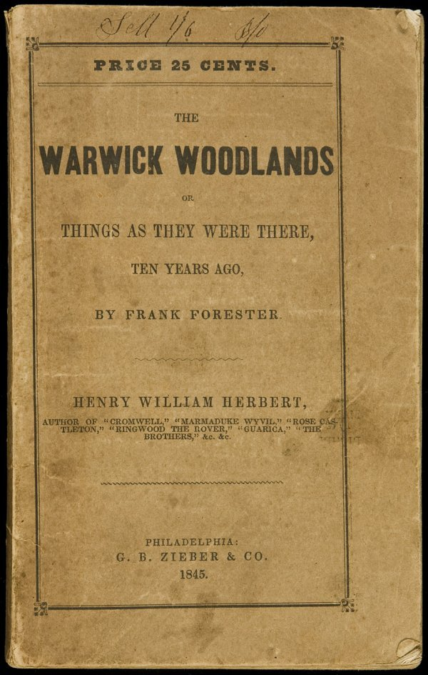 19: Forester's Warwick Woodlands, Martin/Norton copy