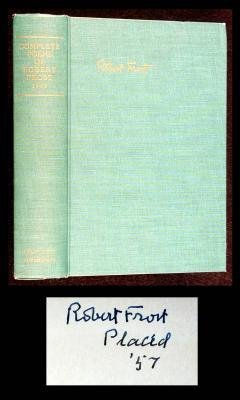 21: Complete Poems of Robert Frost signed