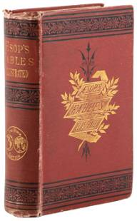 Aesop's fables with 130 engravings 1875