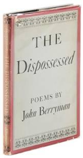 John Berryman Dispossessed inscribed 1st