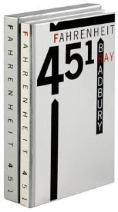 LEC edition of Bradbury's Fahrenheit 451 signed