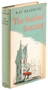 Bradbury's October Country 1st UK signed