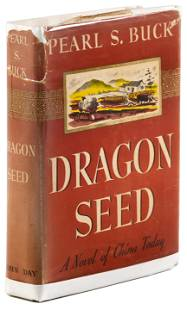 Dragon Seed by Pearl S. Buck, inscribed