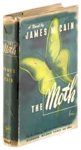 James M. Cain The Moth, 1st Edition in dj