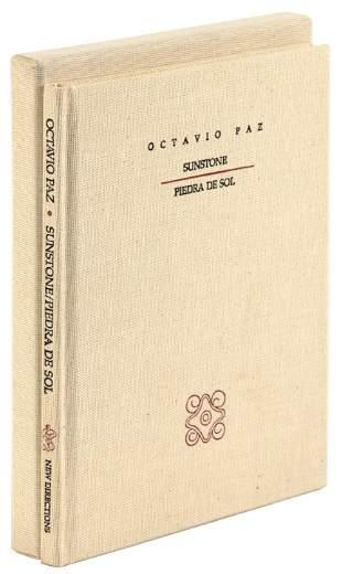 Sunstone/Piedre De Sol, by Octavio Paz, signed
