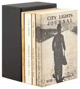 City Lights Journal 1-4, Signed by Ferlinghetti and