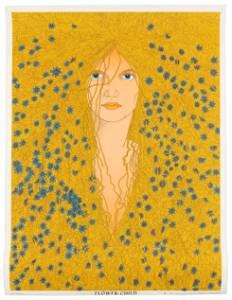 Flower Child by John Thompson, 1967