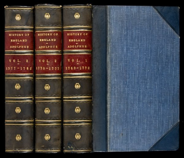 2: History of England by Adolphus 1802