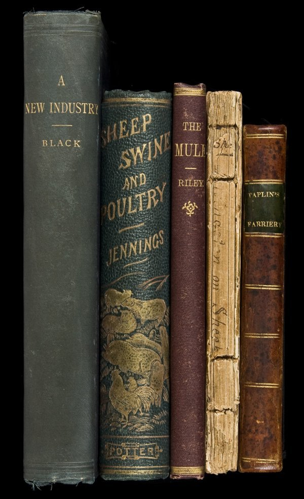 3: Five 19th century works on agricultural pursuits