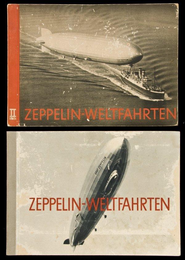 22: Zeppelin-Weltfahrten 2 volumes