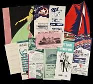 67 tourism brochures of San Diego  other ephemera