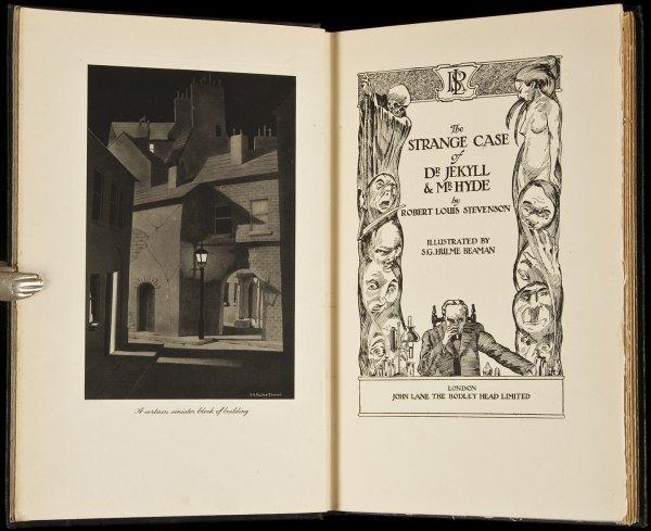 1: Dr. Jekyll & Mr. Hyde illus by Beaman 1930