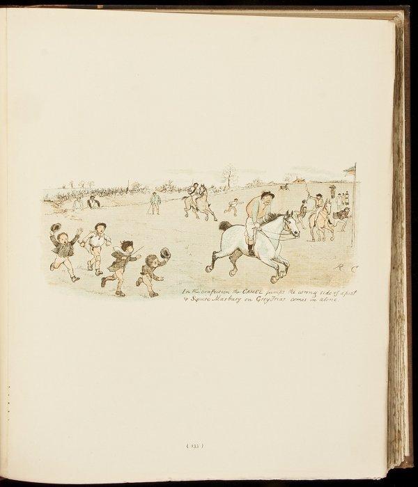 "5: Collection of Randolph Caldecott's ""Graphic"" art"