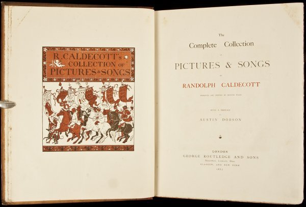 6: Collection of Pictures & Songs Caldecott 1887