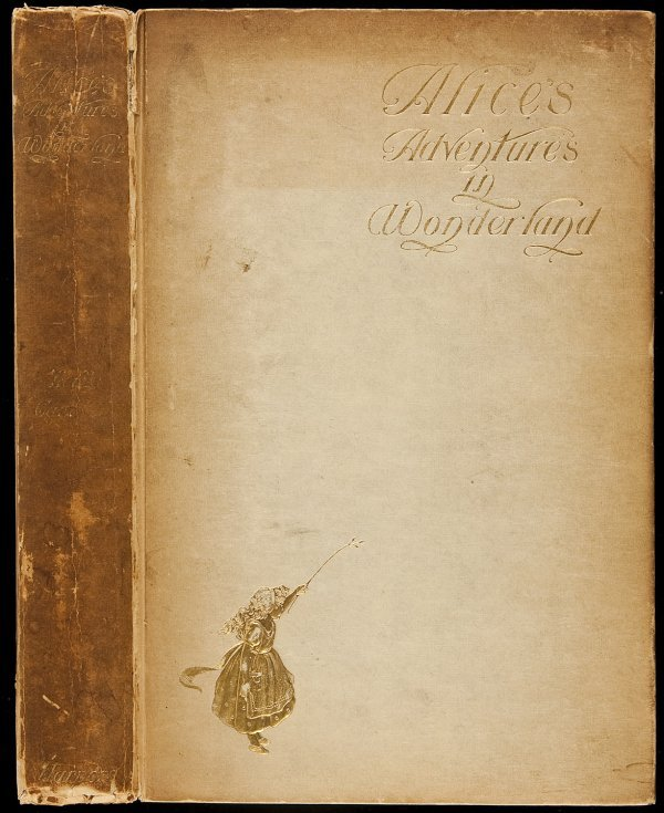 7: Alice's Adventures Wonderland 1901 Newell illust.