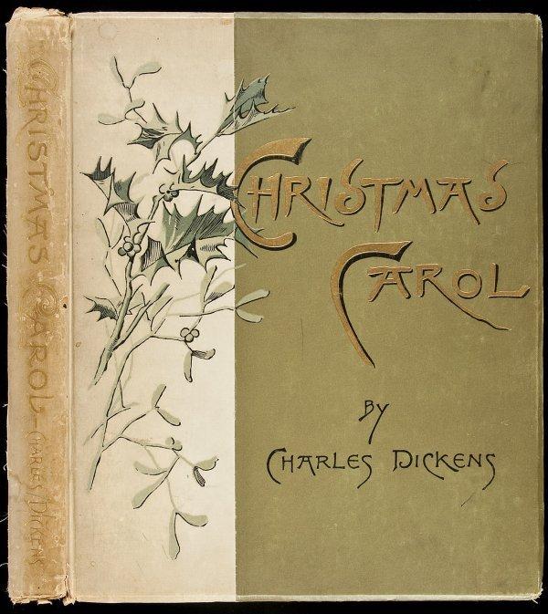 10: Christmas Carol by Dickens 1890 NY edition