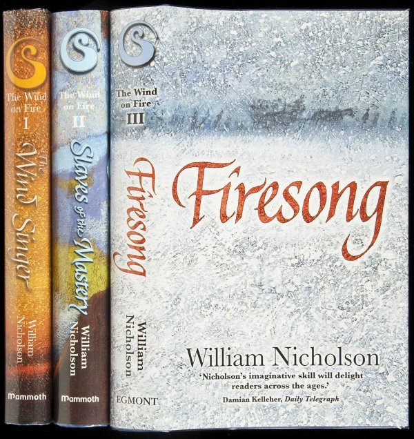 21: The Wind on Fire Trilogy - three volumes, signed