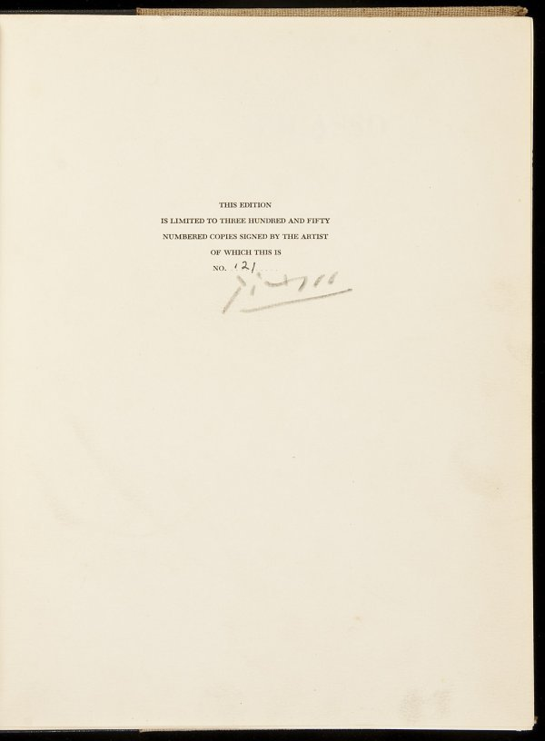 23: Picasso: The Recent Years Signed Limited Edition