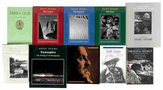 Collection of 30 volumes on Ansel Adams