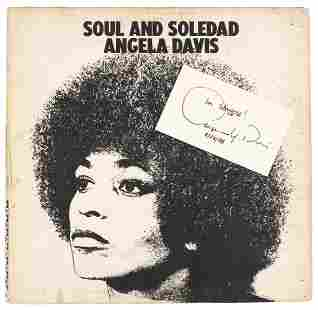 Soul and Soledad with an autograph by Davis