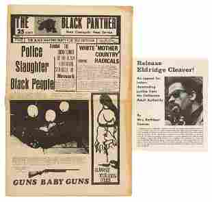 Three items from the Black Panther Party