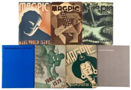 Teenage WPA art work of Black master-printmaker
