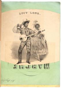 Racist African-American caricatures