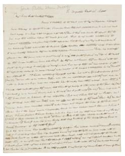 Letter from brother of anti-slavery leader Gerrit Smith