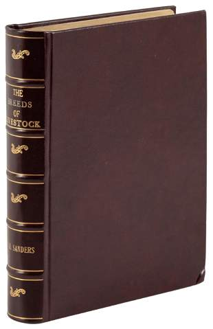 Reference text on breeding Livestock, 1887
