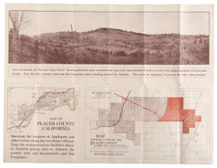 Land for sale in Placer County, Cal., 1914