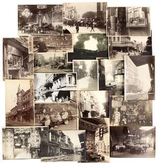 Photos of S.F. Chinatown & the earthquake