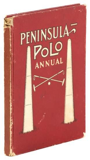 Polo Annual from SF Peninsula, 1912-13