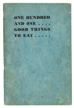 101 Good Things to Eat Piedmont Mothers' Club 1938
