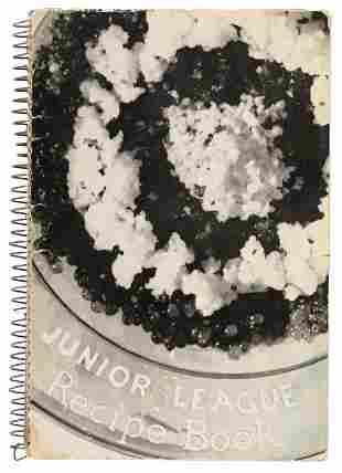 Recipe book from the LA Junior League, 1940