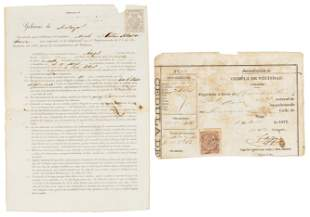 Contract for Chinese indentured servant in Cuba