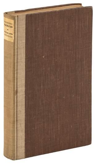 William James' Pragmatism, Frederick Ellis' copy
