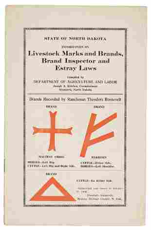 The livestock brands of Theodore Roosevelt