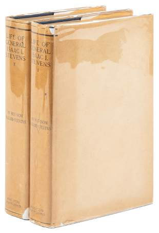 Life of General Isaac I. Stevens, First Edition