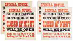 Sutro Baths swimming posters