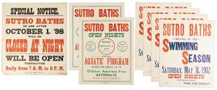 Posters for Sutro Baths