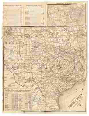 Information on Texas fence building in 1889