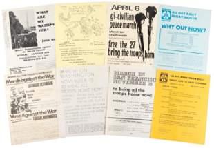 Eight anti-Vietnam War flyers 1969
